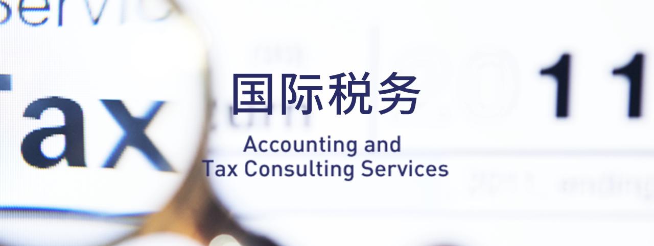 国际税务Accounting and tax consulting service